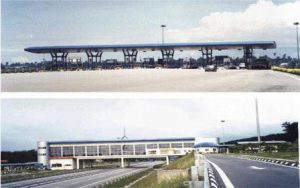 Toll Plaza at Lunas & Kubang Semang and Elevated Restaurant for KLBK